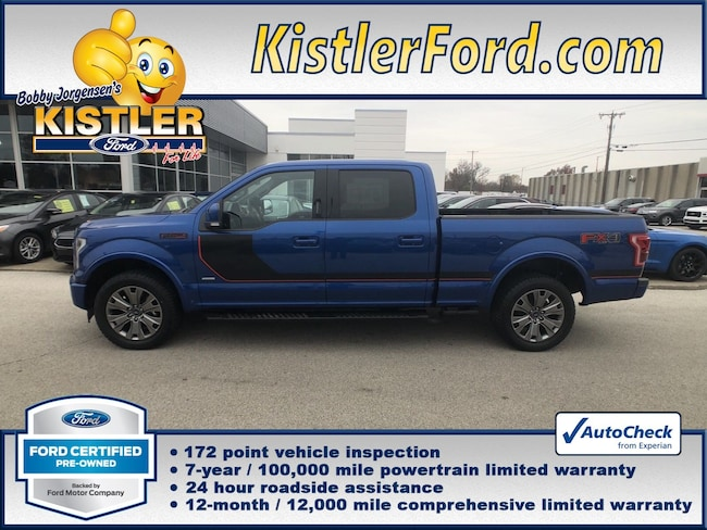 2017 Ford F-150 Lariat Truck SuperCrew Cab 4WD