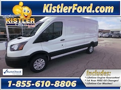 2019 Ford Transit Commercial PEWTER VINYL Van Medium Roof Cargo Van RWD