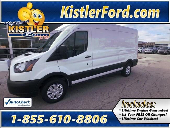 2019 Ford Transit Commercial CHARCOAL CLOTH Van Medium Roof Cargo Van RWD
