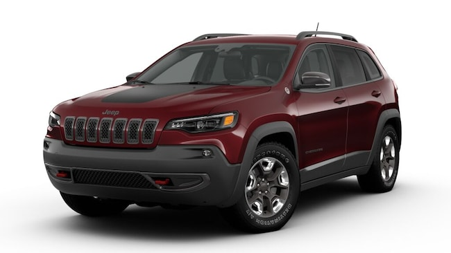 New 2019 Jeep Cherokee TRAILHAWK 4X4 Sport Utility For Sale/Lease Kent, OH