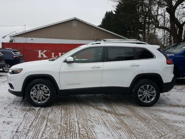 New 2019 Jeep Cherokee LATITUDE PLUS 4X4 Sport Utility For Sale/Lease Kent, OH