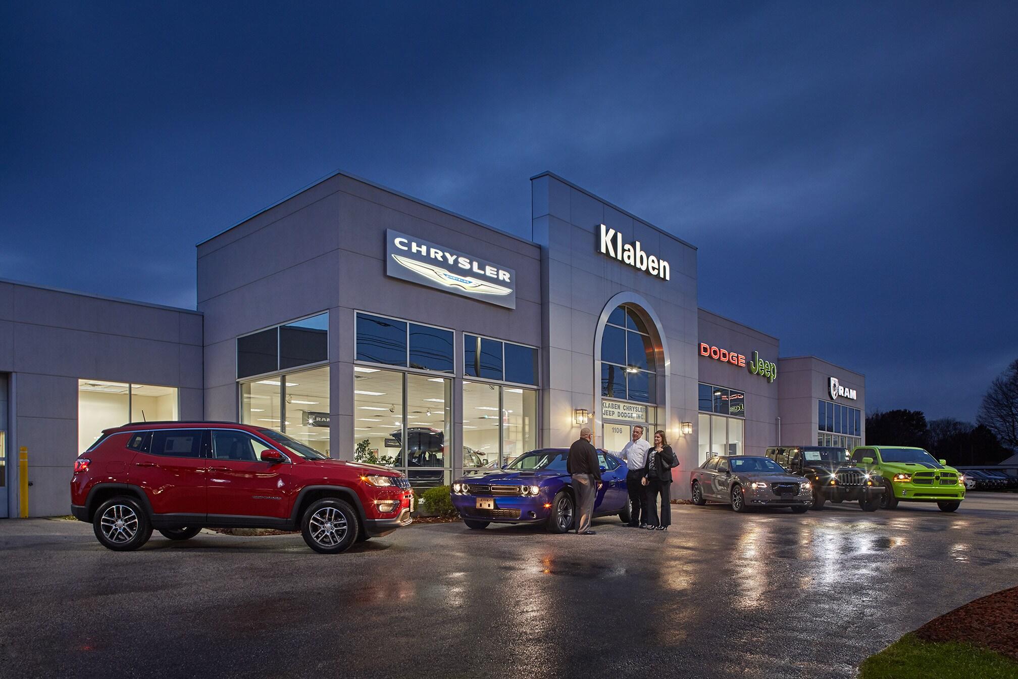 About Klaben Chrysler Jeep Dodge Ram