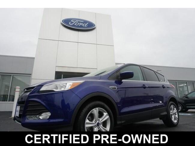 2016 Ford Escape 4WD  SE SUV