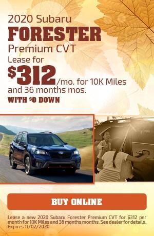 2020 Subaru Forester Premium CVT