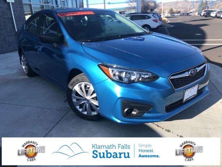 New 2019 Subaru Impreza 2.0i Sedan For sale/Lease Klamath Falls, OR