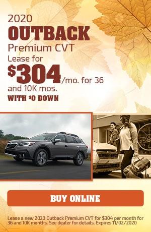 2020 Outback Premium CVT
