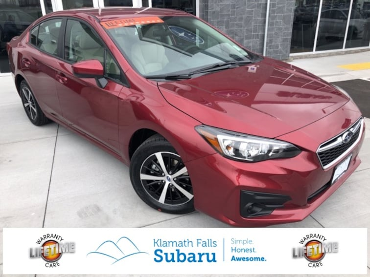 New 2019 Subaru Impreza 2.0i Premium Sedan For sale/Lease Klamath Falls, OR