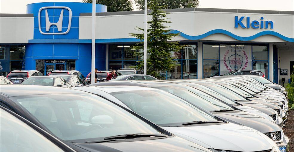 Klein Honda In Everett Dealer Information In Everett Wa Washington
