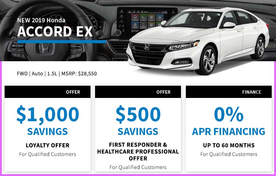 Honda Accord Special Offer Seattle, WA