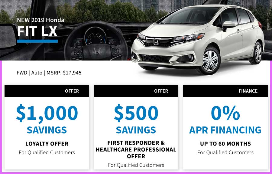 Honda Fit Special Offer Seattle, WA