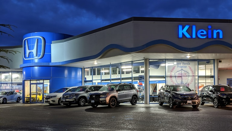 Honda Of Everett >> New Used Honda Dealership Klein Honda In Everett Wa