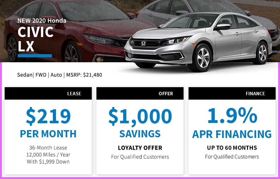 Honda Civic Special Offer Seattle, WA