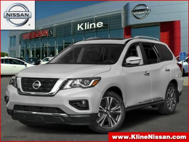 New 2019 Nissan Pathfinder Platinum SUV in Maplewood, MN