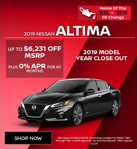 New 2019 Nissan Altima   Discount Off MSRP