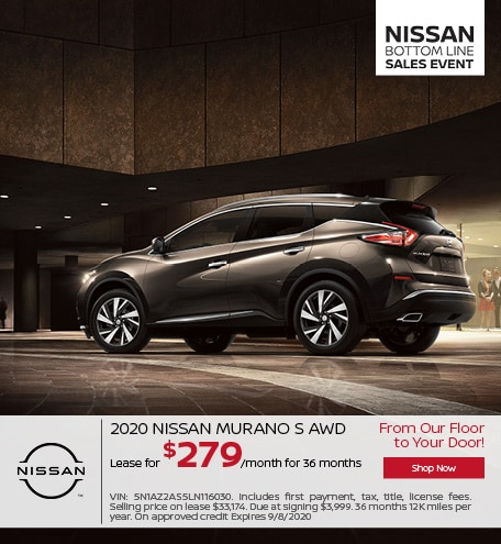 New 2020 Nissan Murano | Lease