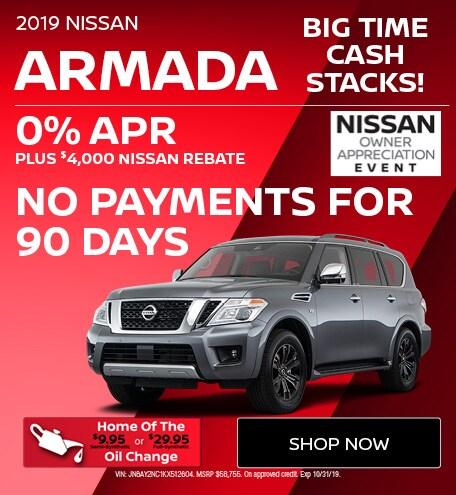 New 2019 Nissan Armada | Big Time Cash Stacks