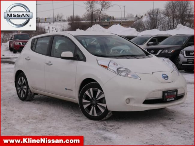 Used 2016 Nissan Leaf HB SV in Maplewood, MN