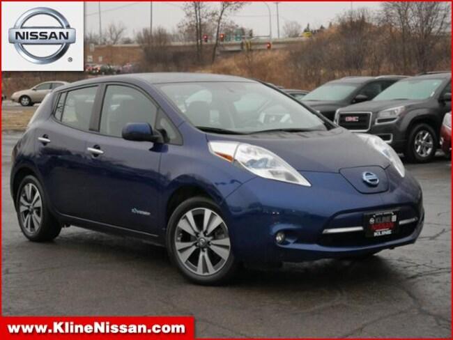 Used 2016 Nissan Leaf HB SL in Maplewood, MN