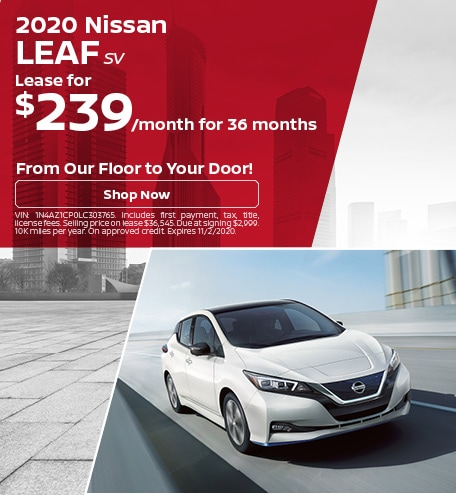 New 2020 Nissan Leaf | Lease
