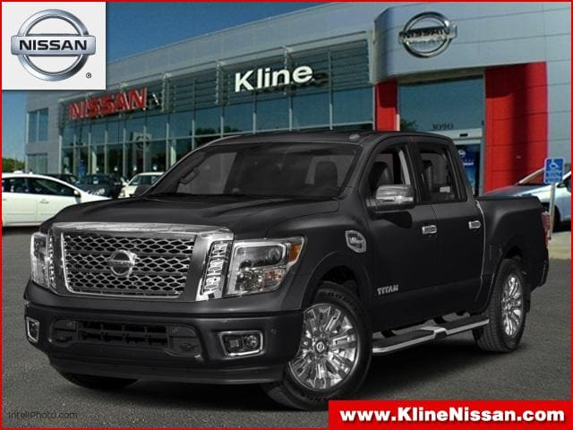 2018 Nissan Titan Platinum Reserve Truck