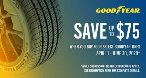 Goodyear $75 Mastercard