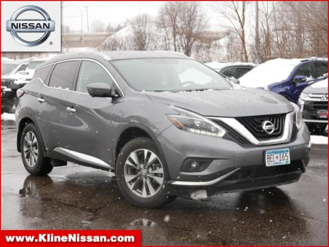 Used 2018 Nissan Murano AWD SL 3.5L 6cyl SUV in Maplewood, MN