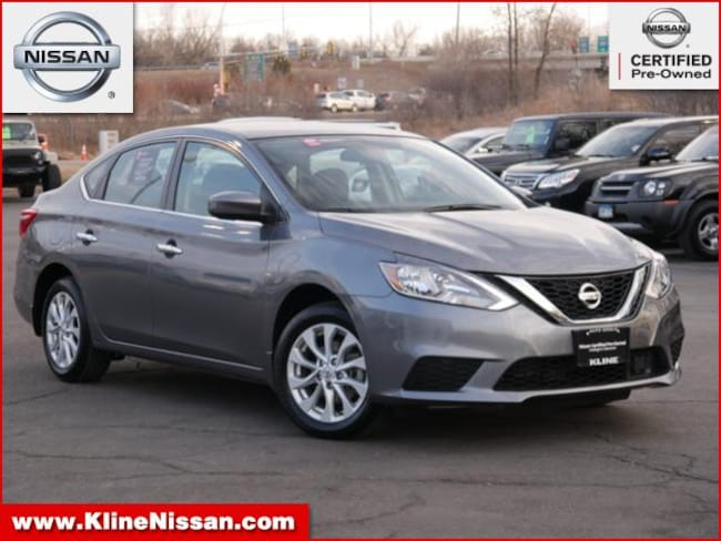 Used 2018 Nissan Sentra S CVT 1.8L 4cyl in Maplewood, MN