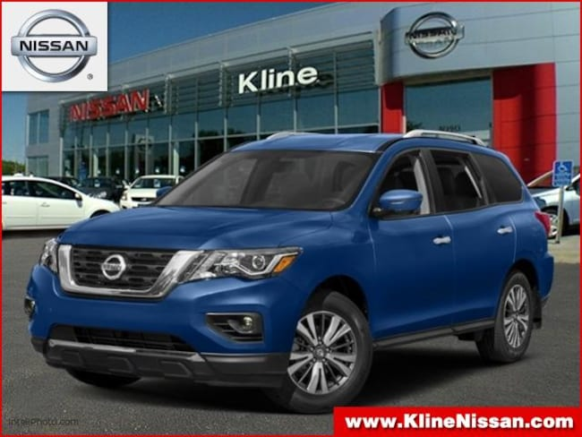 New 2019 Nissan Pathfinder SV SUV in Maplewood, MN