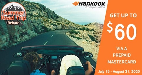 Hankook $60 Prepaid Master Card Mail In Rebate