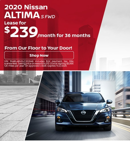 New 2020 Nissan Altima | Lease