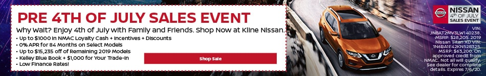 Pre 4th of July Sales Event