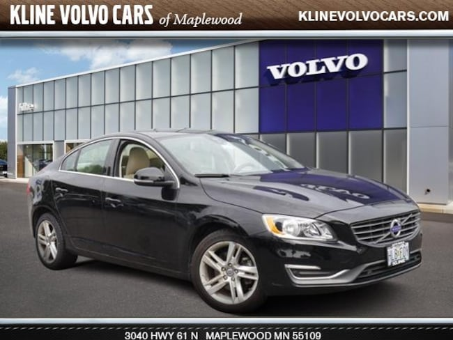 Used 2015 Volvo S60 2015.5   T5 Drive-E Premier FWD 2.0l 4cyl Sedan For Sale Maplewood, MN