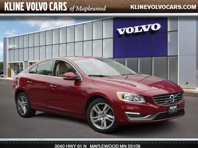 Used 2015 Volvo S60 T5 Premier AWD 2.5l 5cyl Sedan For Sale Maplewood, MN