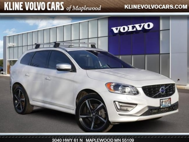 Used 2015 Volvo XC60 AWD  T6 R-Design Premier Plus 3.0l 6cyl SUV For Sale Maplewood, MN