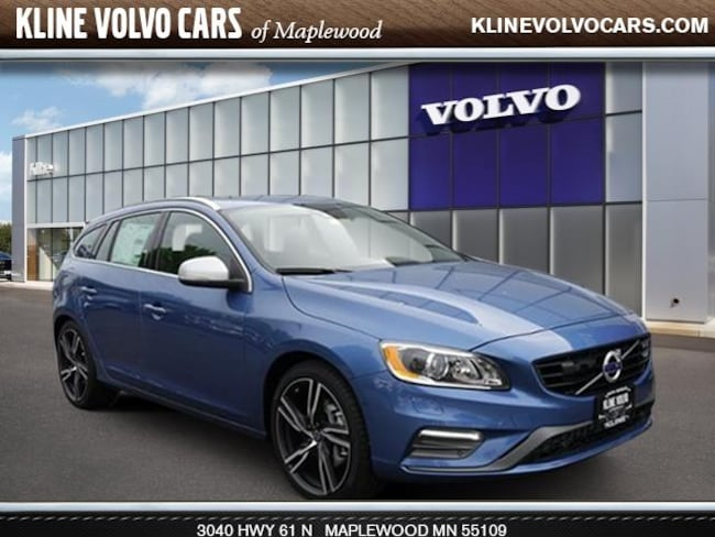 New 2017 Volvo V60 T6 R-Design Platinum Wagon in Maplewood, MN