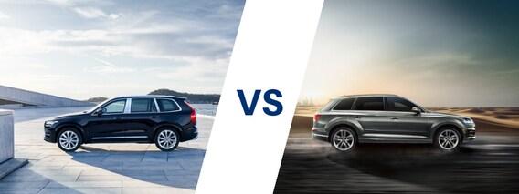 Compare The Volvo Xc90 Vs The Audi Q7 Kline Volvo Cars Of Maplewood