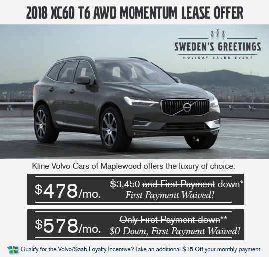 Volvo X60 Lease: Visit Kline Volvo Cars Of Maplewood For New Vehicle