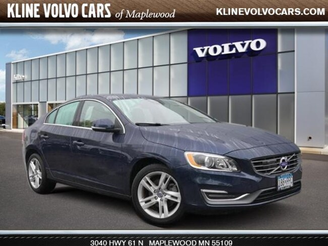 Used 2015 Volvo S60 2015.5   T5 Drive-E Platinum FWD 2.0l 4cyl Sedan For Sale Maplewood, MN