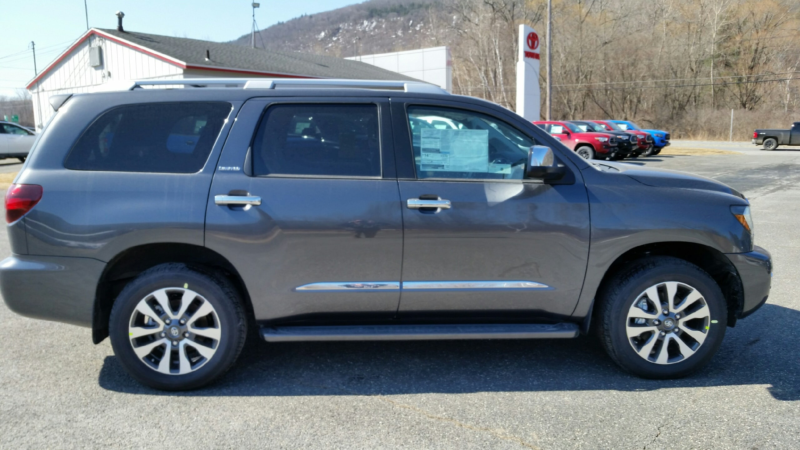 Toyota Official Site >> New 2019 Toyota Sequoia For Sale North Adams Ma