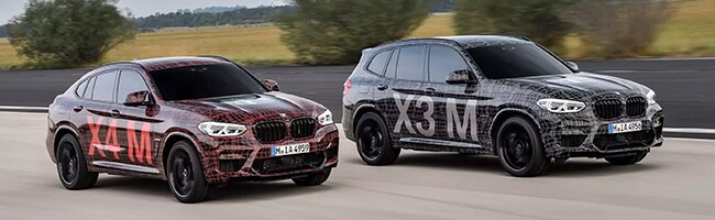 First Official Look At The New Bmw X3 M And Bmw X4 M Knauz