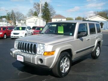 2008 Jeep Commander SUV