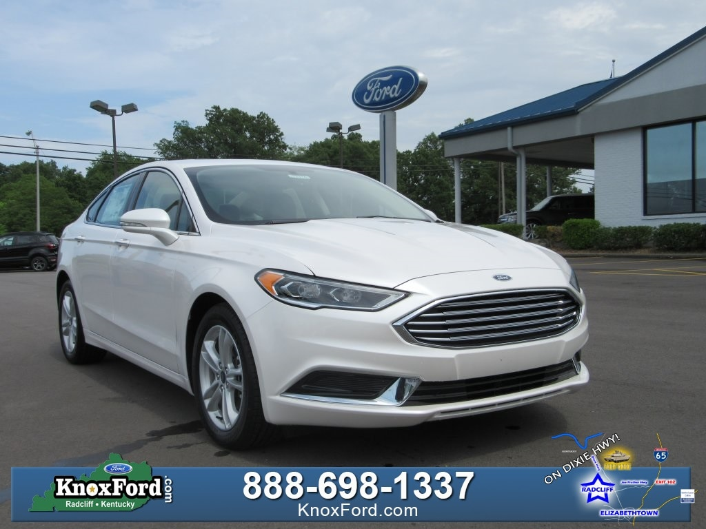 New 2018 Ford Fusion SE Sedan For Sale in Radcliff, KY