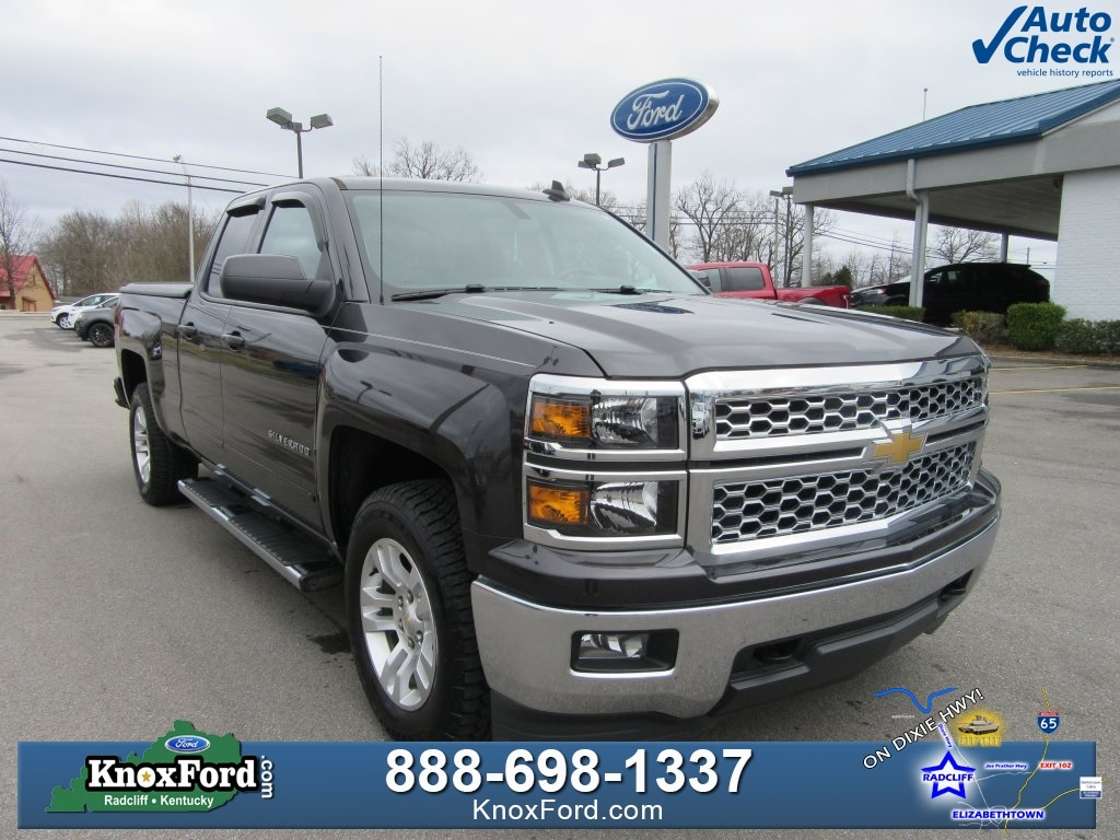 2015 Chevrolet Silverado 1500 LT Double Cab for Sale in Radcliff, KY