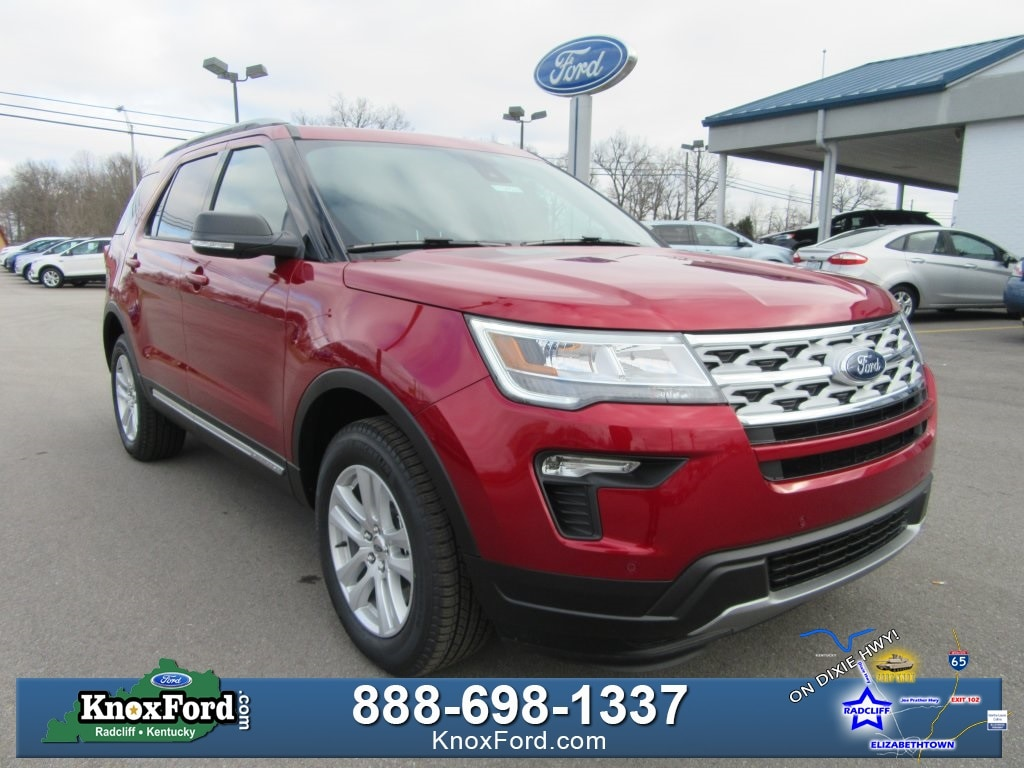 New 2019 Ford Explorer XLT Sport Utility Elizabethtown, Kentucky