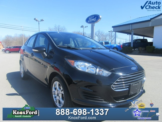 2016 Ford Fiesta SE Sedan For Sale near Elizabethtown, KY