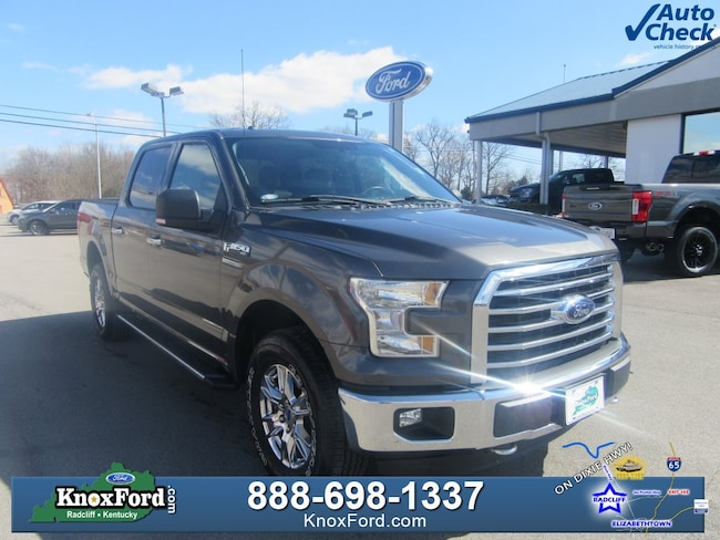 2015 Ford F-150 XLT SuperCrew For Sale near Elizabethtown, KY