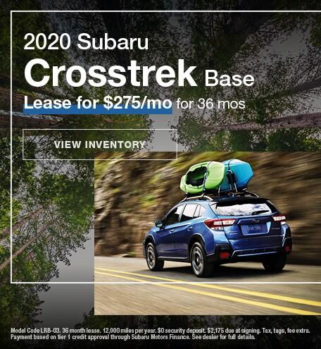 January 2020 Subaru Crosstrek Base
