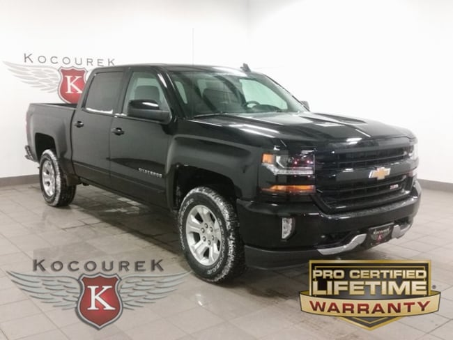 New 2018 Chevrolet Silverado 1500 LT Truck Crew Cab For Sale Wausau, Wisconsin
