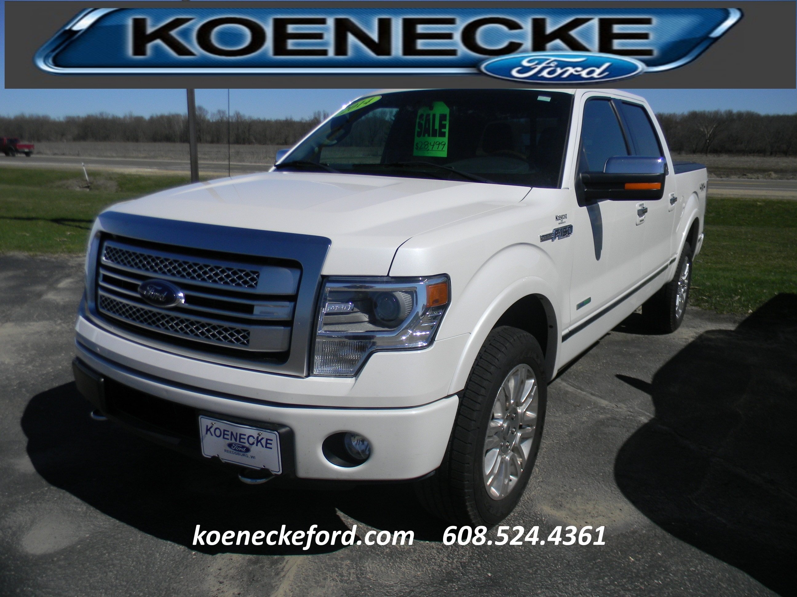 2014 Ford F-150 Platinum 4x4 SuperCrew Cab Styleside 6.5 ft. box 1 Truck