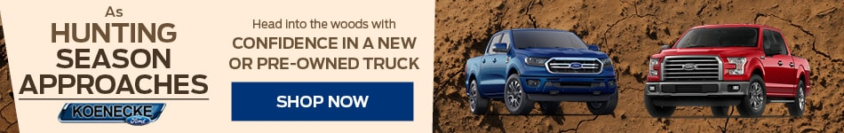 Head Into The Woods With Confidence in a New Truck